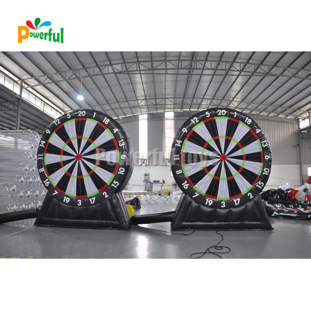 inflatable dart board soccer,inflatable football target set,inflatable football darts