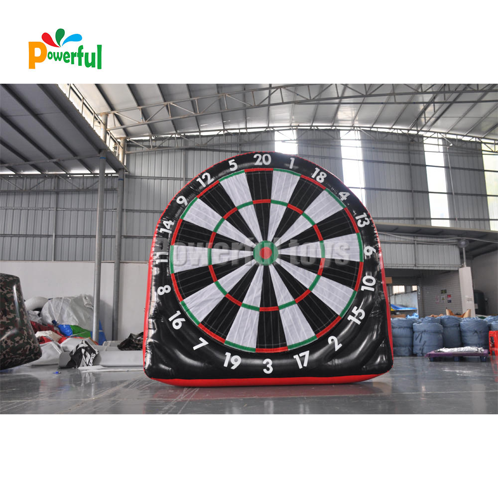 airtight inflatable soccer dart board no noise