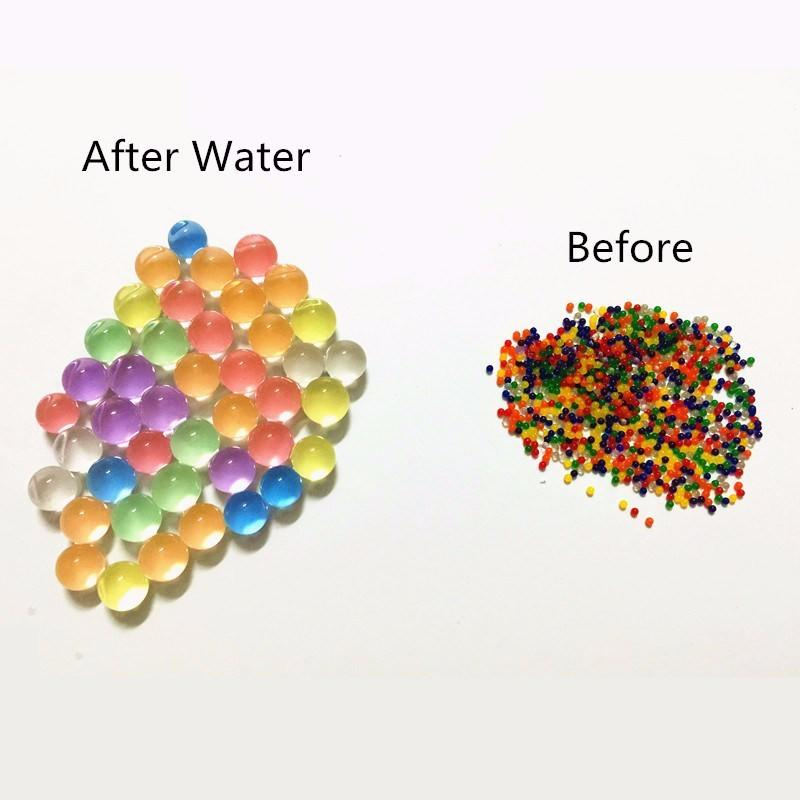 Wholesale Various Durable Using Unscented Aroma Beads Magic Jelly Balls Crystal Gel Soil