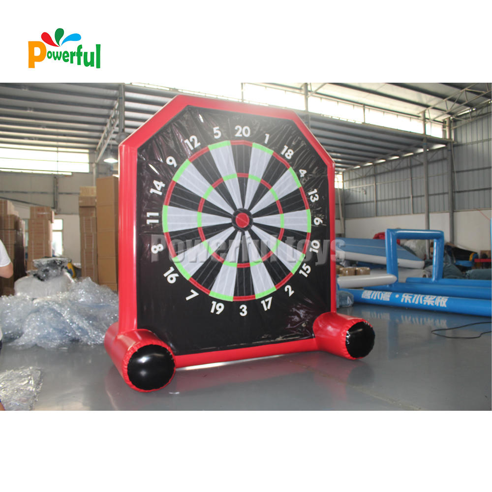 inflatable dartboard,Inflatable soccer dart game,Inflatable foot darts for sale