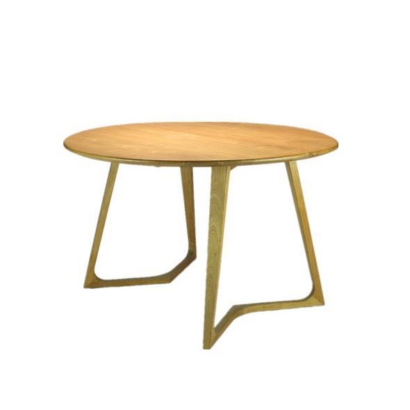 Antique vintage dining furniture wood large round wood dining tables