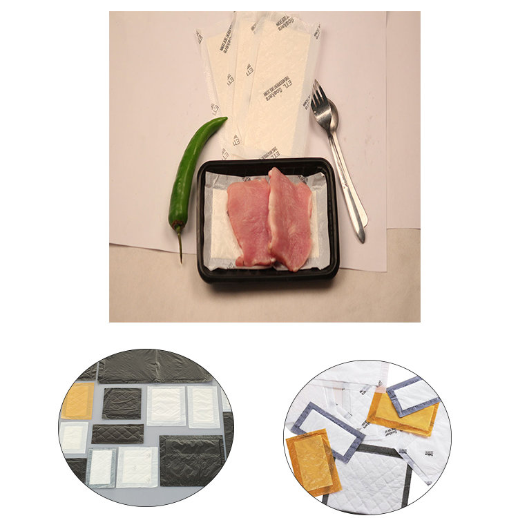Convenient Kitchen Blood Water Absorbent Food Pad For Meat