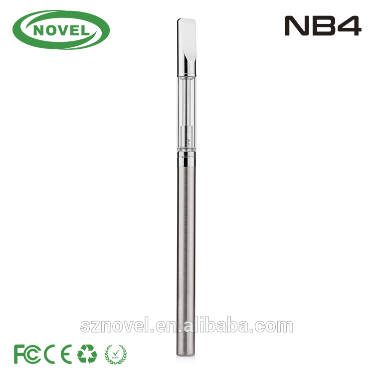 2016 new e cig cbd oil cartridge vape pen thick oil vaporizer pen 510 thread battery NB4 cbd vape pen variable voltage