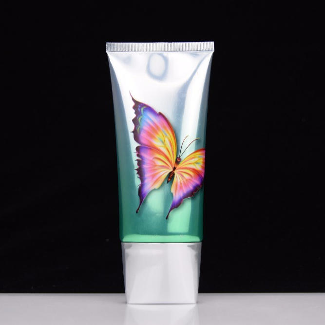 150ml Laminated Face CreamOval Cosmetic Packaging Tube For Skin Care Manufacturers