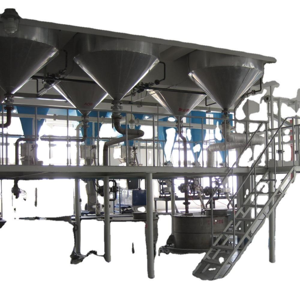 Spray Drying Washing Powder Making Machine / Energy Saving Detergent Powder Plant