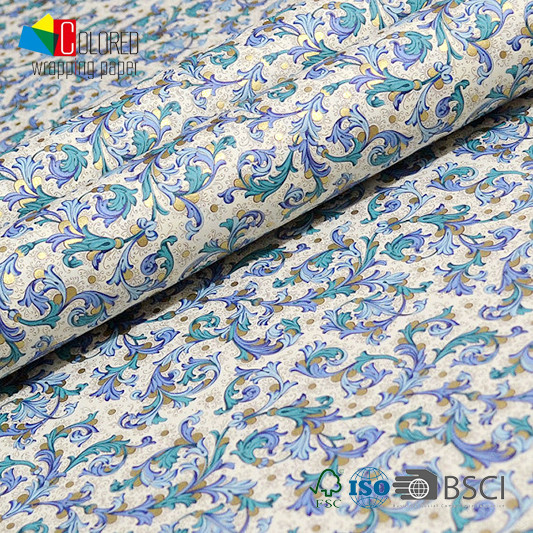 Italian Style Fancy Printing Gift Wrapping Paper