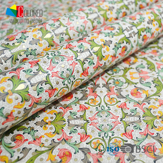Italian Style Summer Design Printing Gift Wrapping Paper