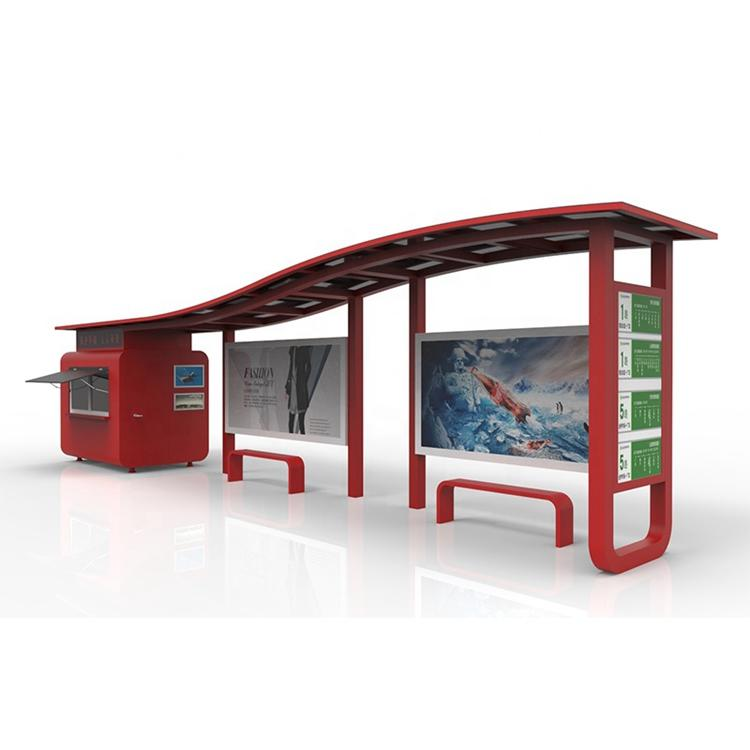 Competitive price China manufacture bus stop station