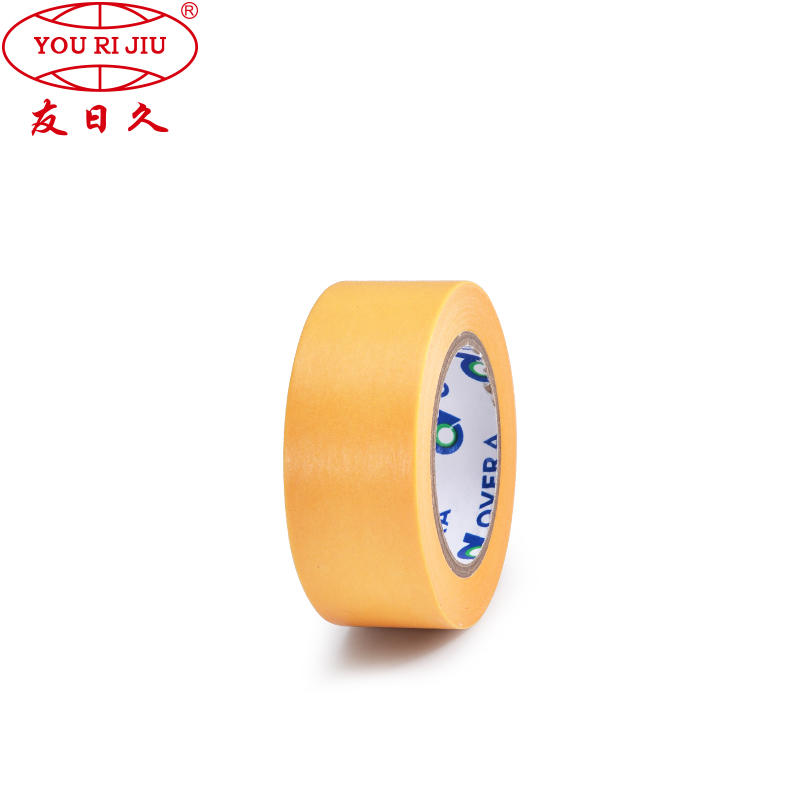Manufacturer HDPE Pretape Auto Paint Masking Film with Crepe Paper Masking Tape