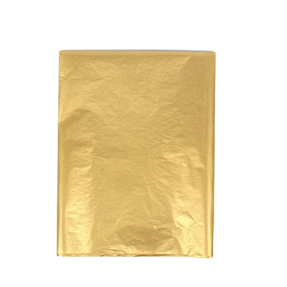 gold color wrapping tissue paper