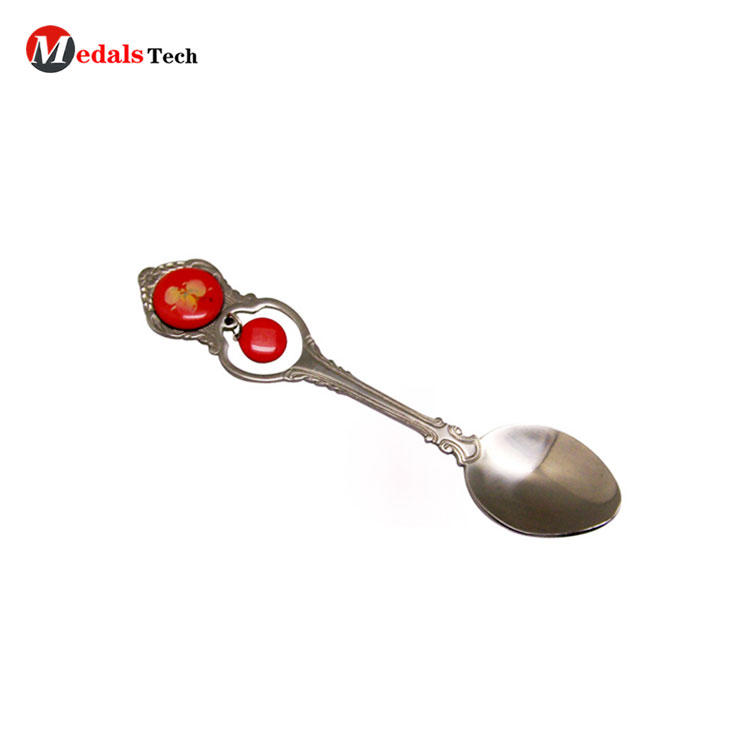Factory direct sale eco-friendly new stylemetal spoon with custom logo