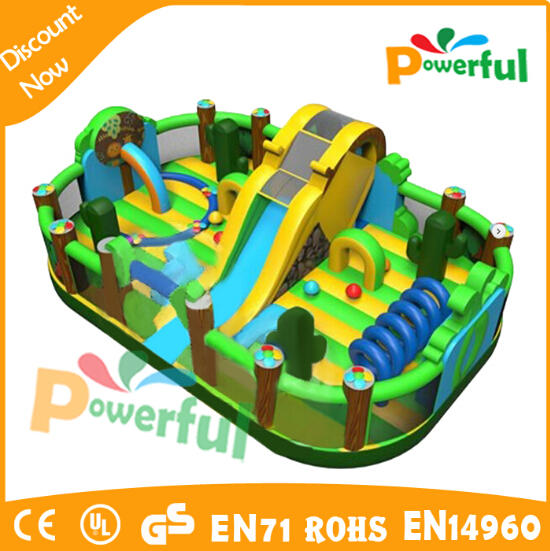 good design inflatable trampolines from china