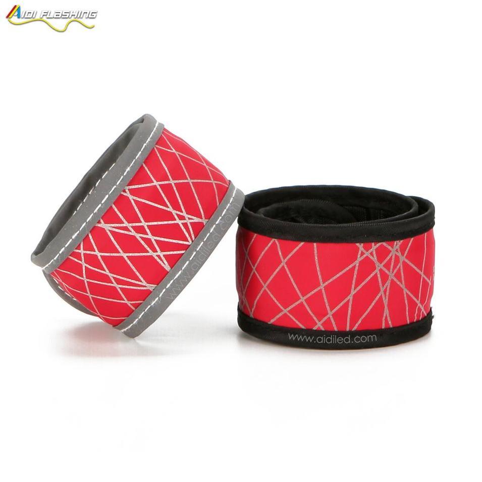 LED outdoor safety nylonactivated bracelet