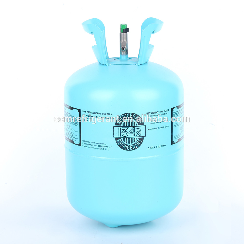 Shipping to warehouse refrigerant gas R134a