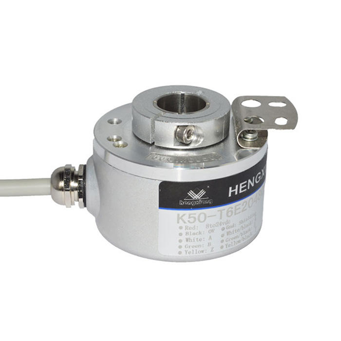 hengxiang through hole 10mm K50 Rotary Potentiometer 10k Distance Measuring Hollow Shaft Encoder 2 signal encoder