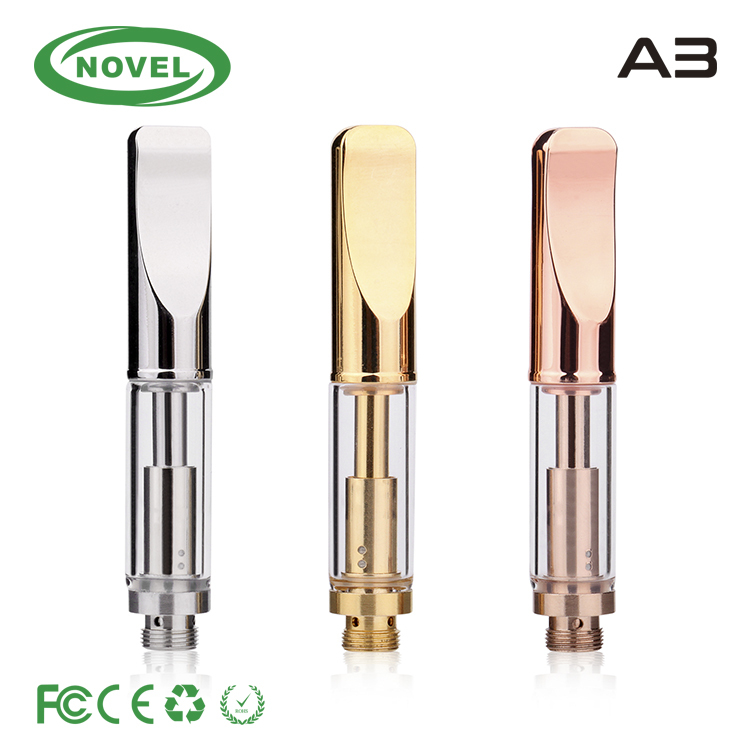 new products 2016 electronic cigarette glass vape cartridge cbd oil cartridge atomizer dual coil heat