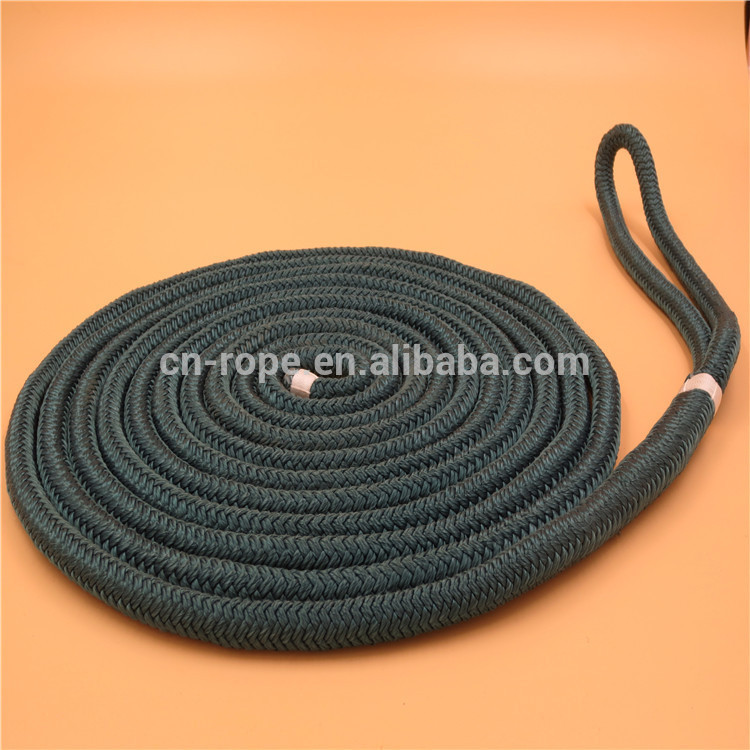 dock line, double braided, 3-strand twisted, yacht accessories, factory