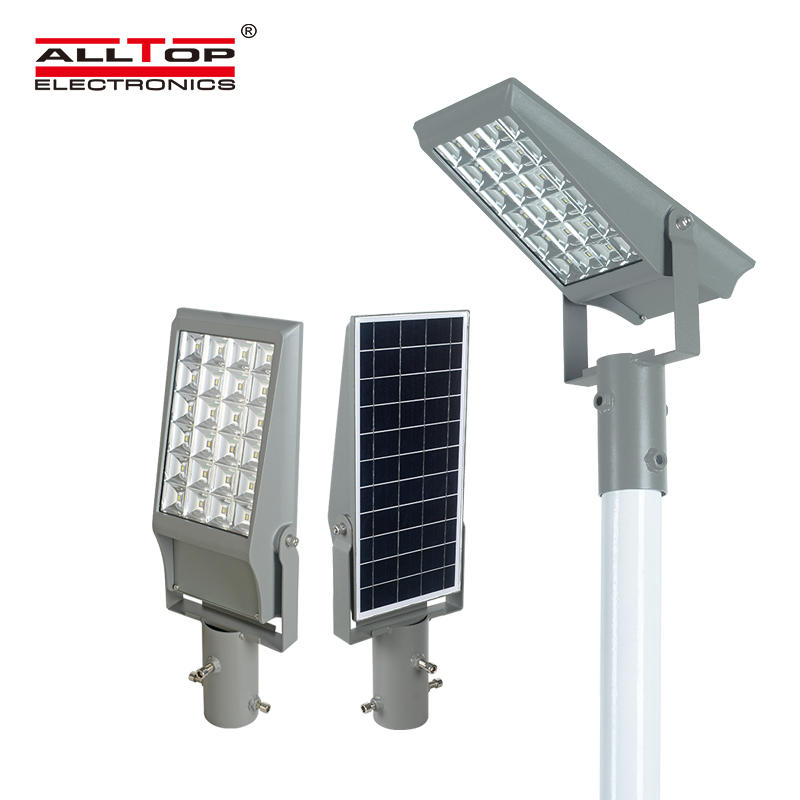 ALLTOP 2020 new design IP65 waterproof outdoor lighting Brideglux smd 8w 12w solar led floodlight