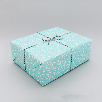 Fresh Design Pastel Color Paper Wrapper Gift Wrapping Paper Gift Packaging Paper Sheets Customized LOGO