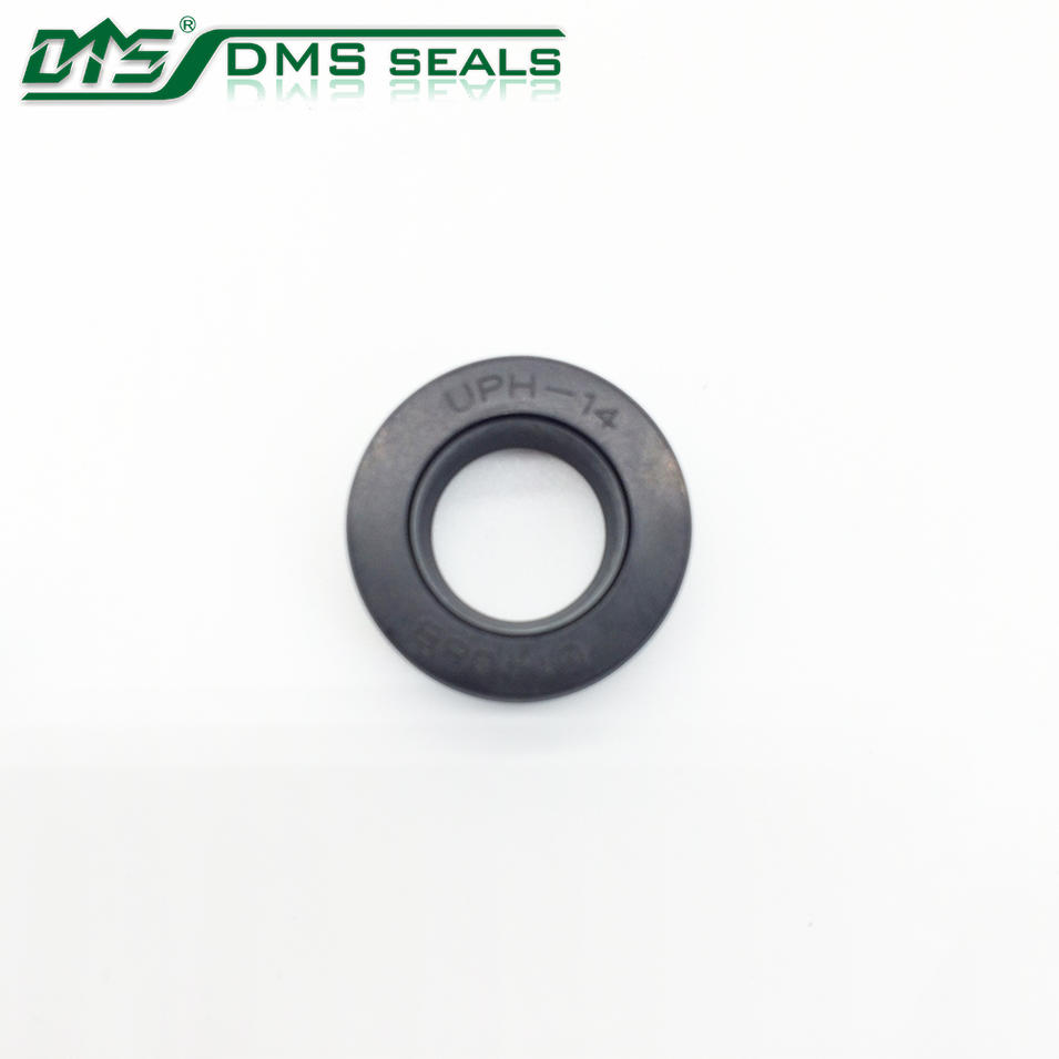 Black PU UPH Brake Master Hydraulic Cylinder Rubber Cup Kit Pistons Rod Oil Seal