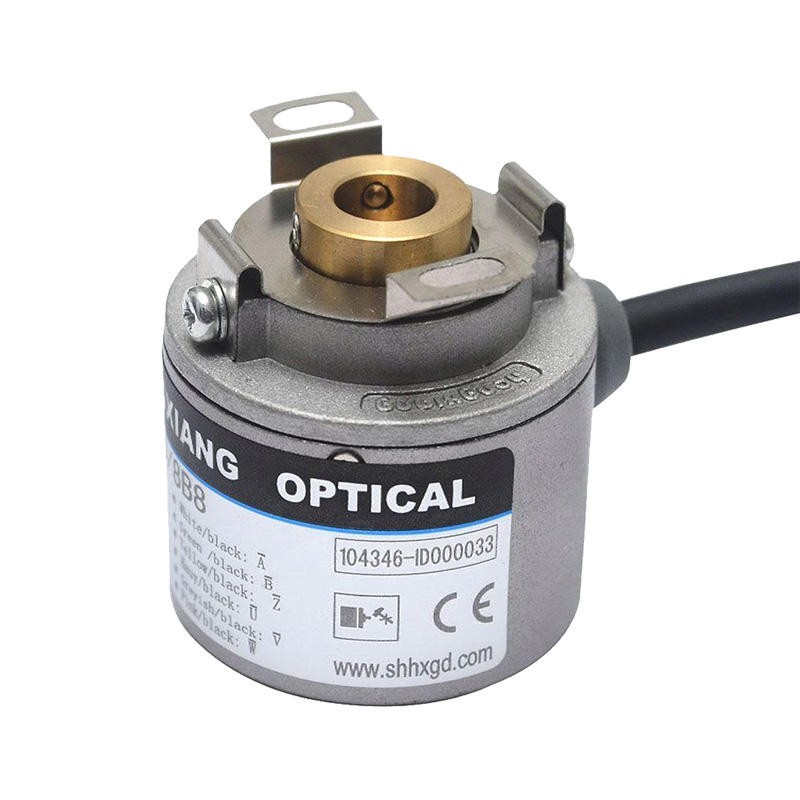 with 2500ppr/8 poles UVW phase motor encoder ts5207 n...