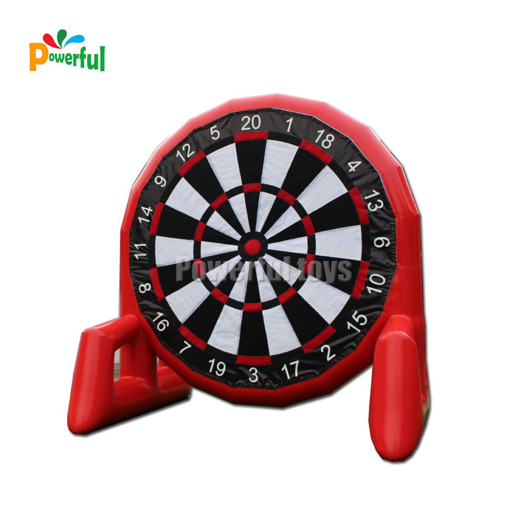 soccer ball inflatable dart game,inflatable target shooting game,inflatable football darts inflatable soccer kick games