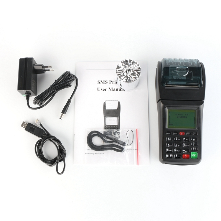 POS Software Handheld device Pos terminal Bill Machine Thermal Printer for Food Order, E-voucher, Bus Ticketing, Lottery program