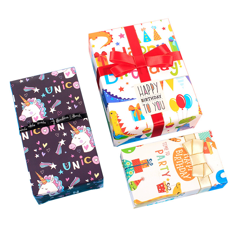 Cartoon Wrapping Paper 50 *70 Cm Animal pattern Gift Wrapping Paper