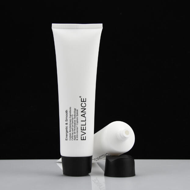 100ml Eco-friendly Empty Facial Cleanser Container Cosmetic Plastic Soft Tubes Packaging