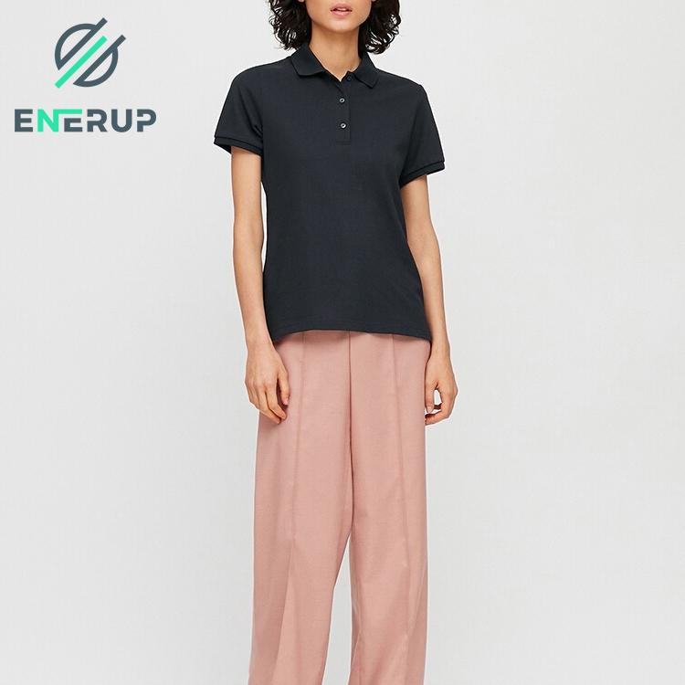 Enerup Oem/Odm Merino Wool Polo Shirt Luxury Wholesale Tagless School Golf Rugby Zip Bamboo Woollen Velour Sweater T-Shirt