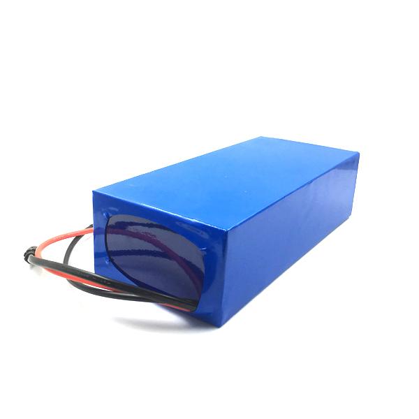 Non toxic high density 52v 60v lithium ion battery pack packs