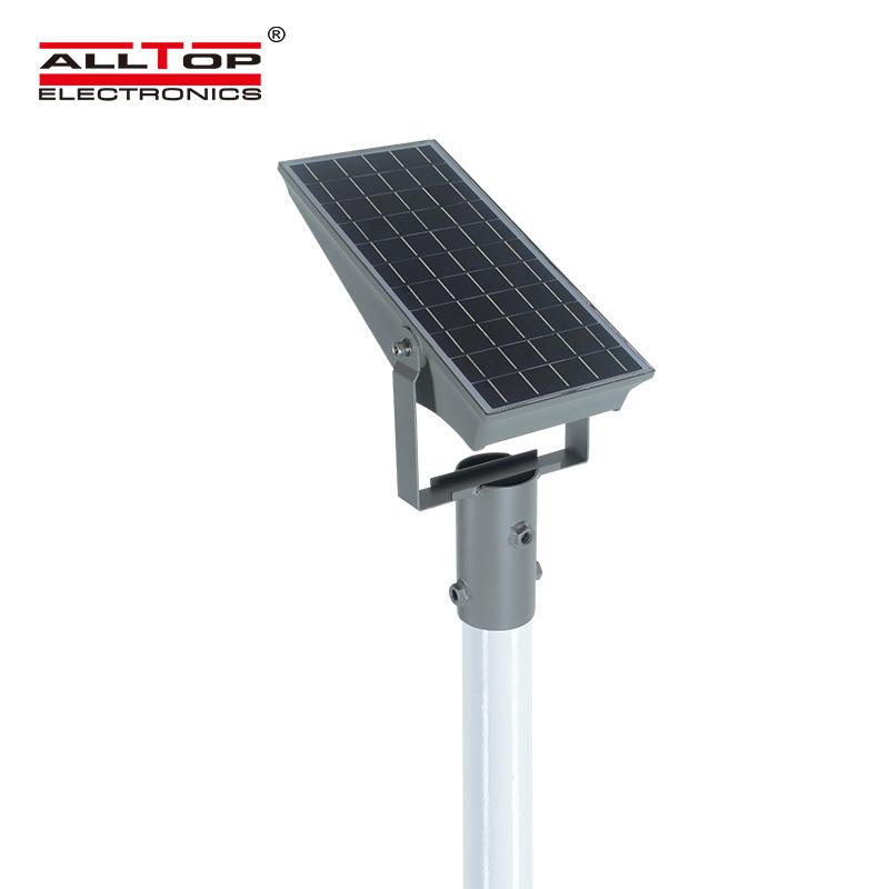 ALLTOP 2020 new design IP65 waterproof outdoor lighting Brideglux smd 8w 12w solar led floodlight