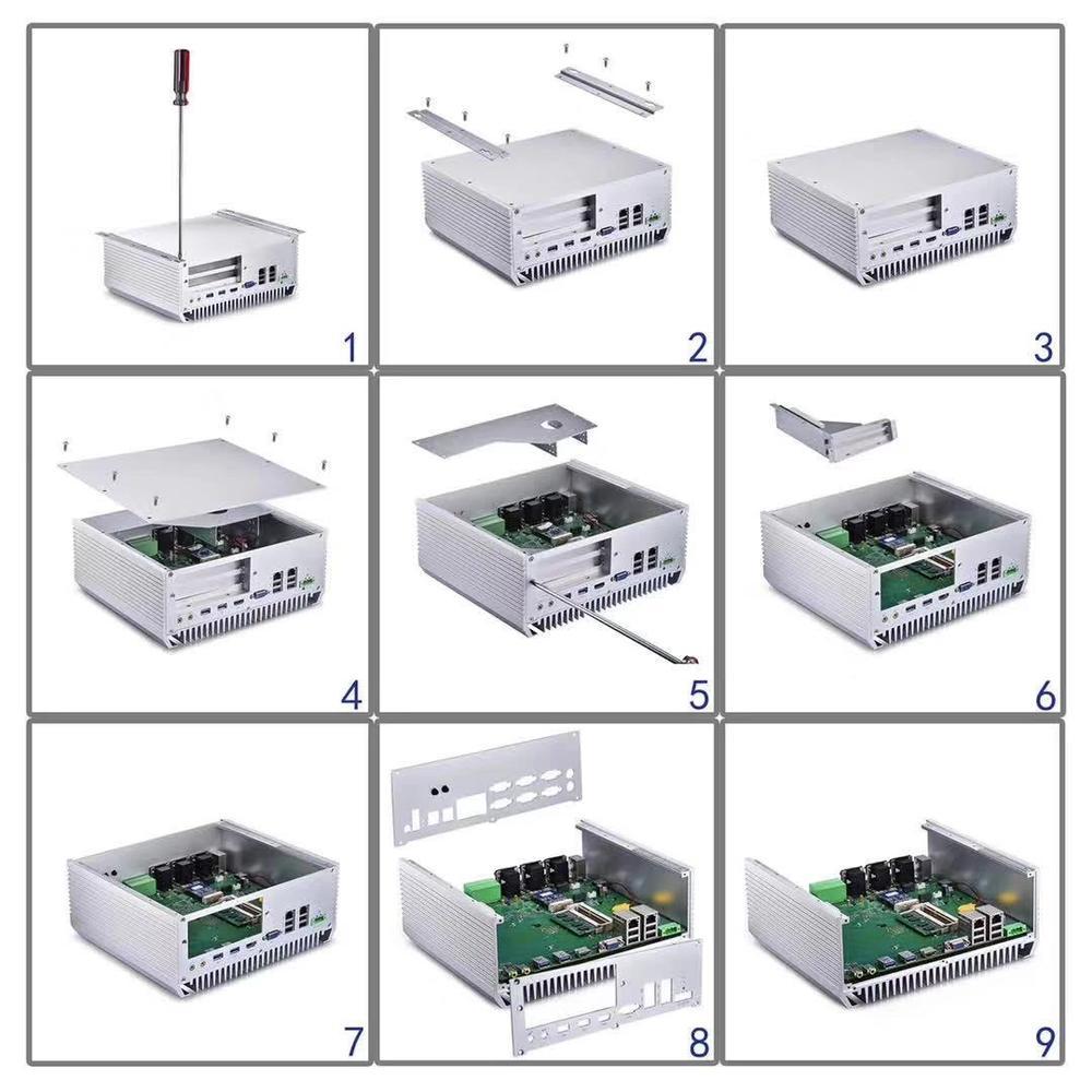 2018 lga1151 industrial motherboard lga1150 multi lan mainboard intel core i3/i5/i7 for juul cool mint relx myle flow yooz