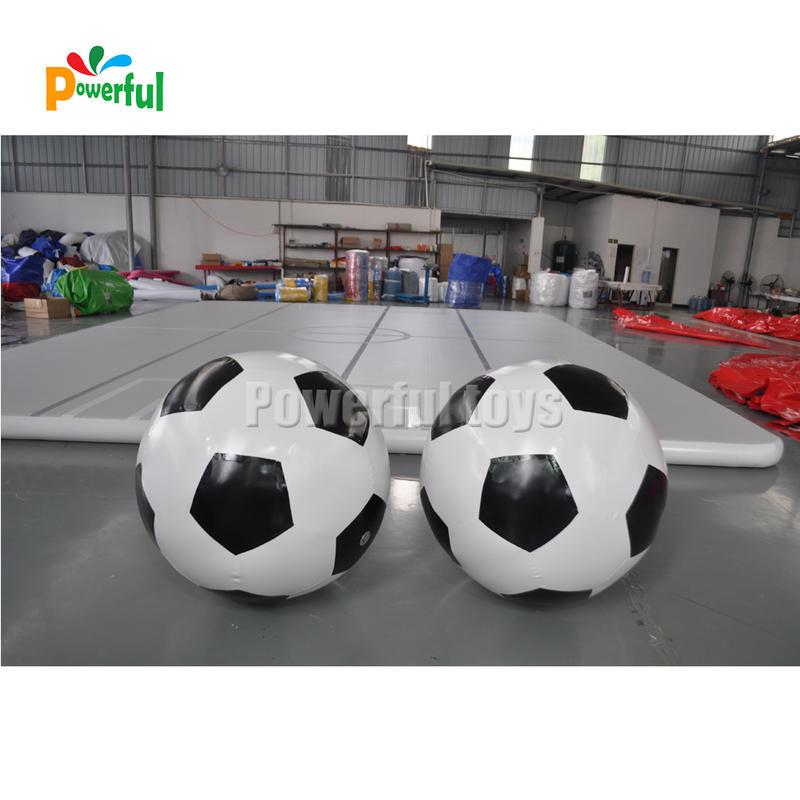 1m diameter giant inflatable football soccer inflatable sport equipment