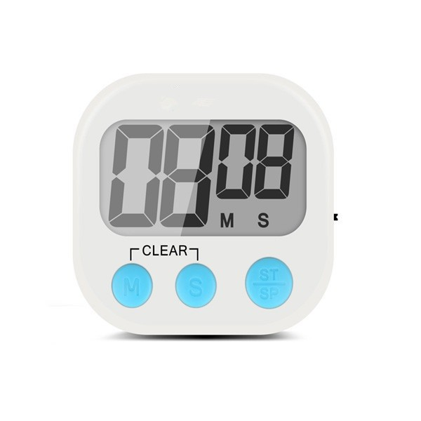 Household Usage Digital Kitchen Cooking Timer With Alarming