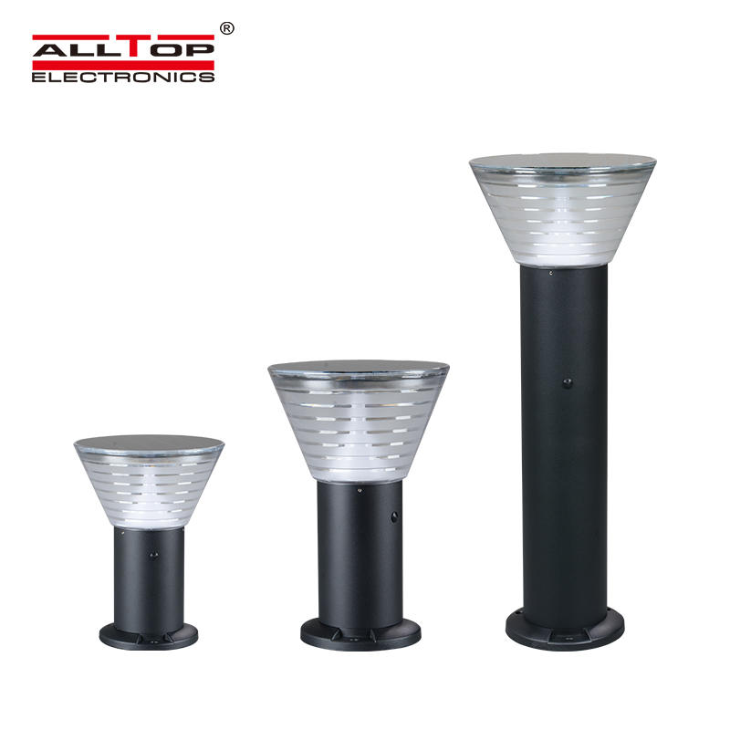 ALLTOP New product integrated garden IP65 outdoor 5w all in one led solar garden light price