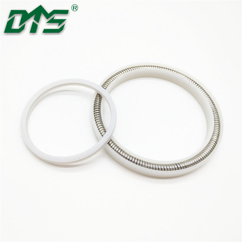 hydraulic Spring loaded Energized PTFE Seal rotary shaft seal/V type