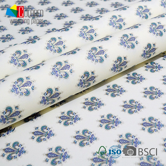 Classical Italian Design Printing Gift Wrapping Paper OEM