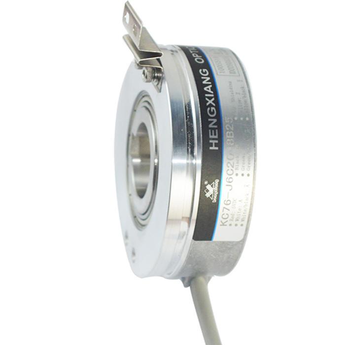 KC76-Series absolute hollow shaft rotaryKeyway dc motor Encoder