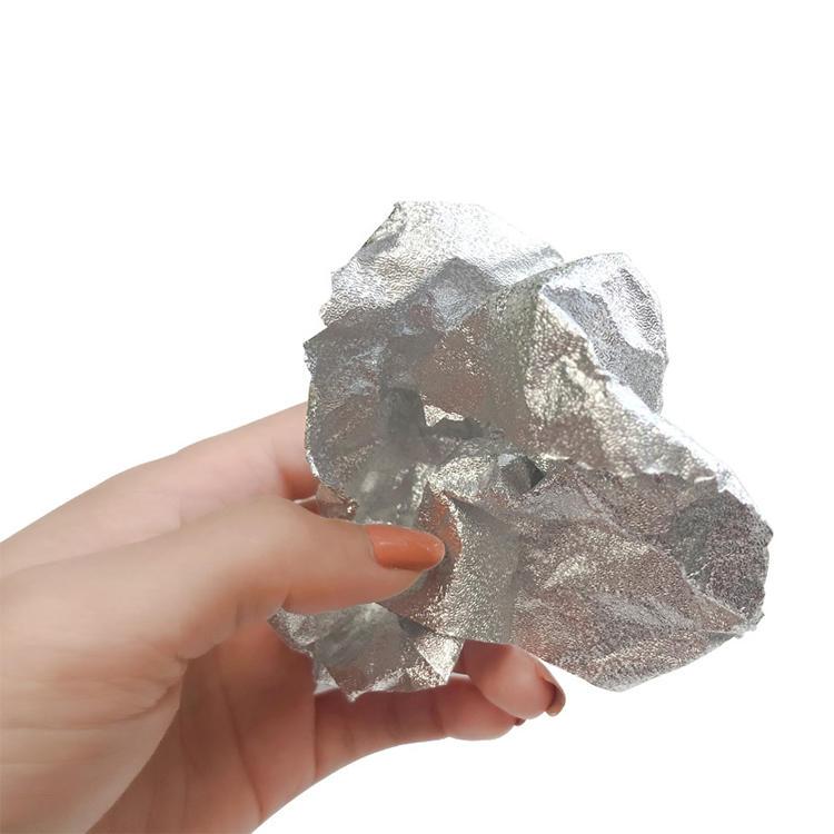 embossed silver color hair salon aluminum foil rolls for salon hair use