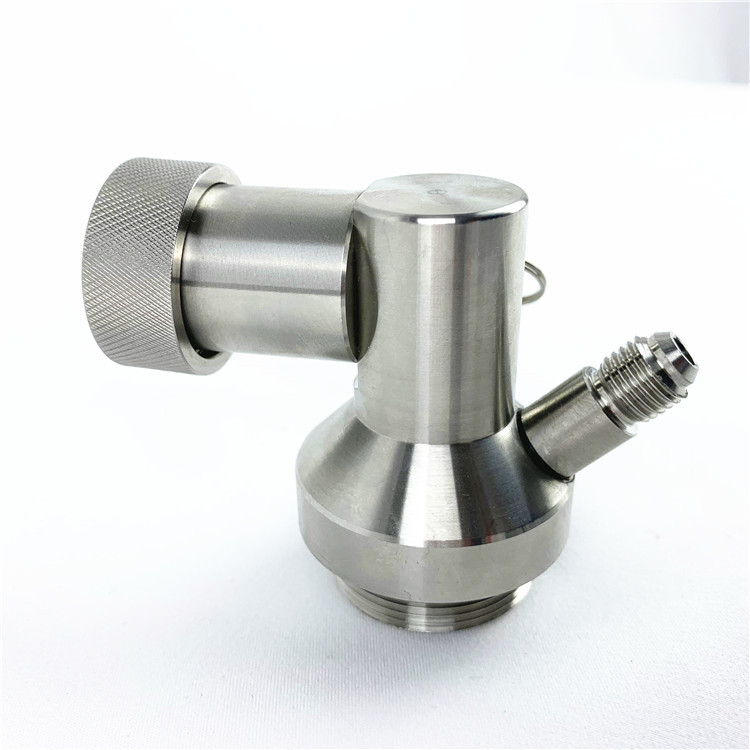 High Quality New 304 Stainless Steel Craft Beer brewing fitting growler Homebrew Mini Keg Tap Dispenser