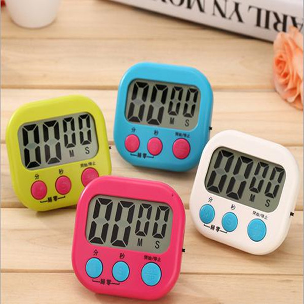 Food BBQ Household Usage Digital Kitchen Cooking Timer With Alarming