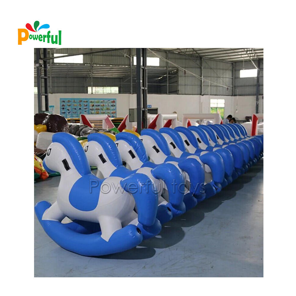 Inflatable Pony Hop inflatable horse racing game