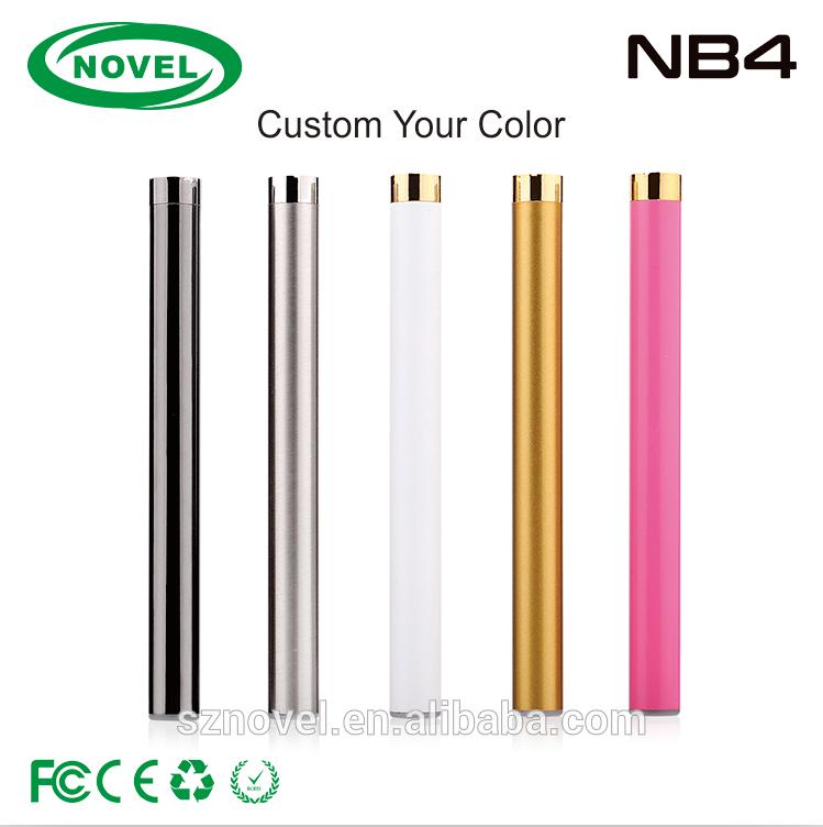 Novel 510 preheat vape pen battery NB4 280mah variable voltage rechargeable battery