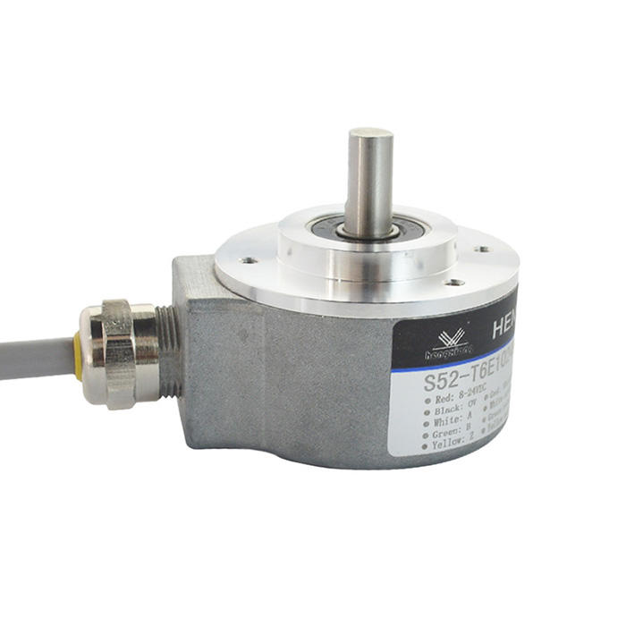 S52 incremental encoder 1024ppr hollow shaft rotary elevator 5-30Vheavy duty encoder high pulse encoder