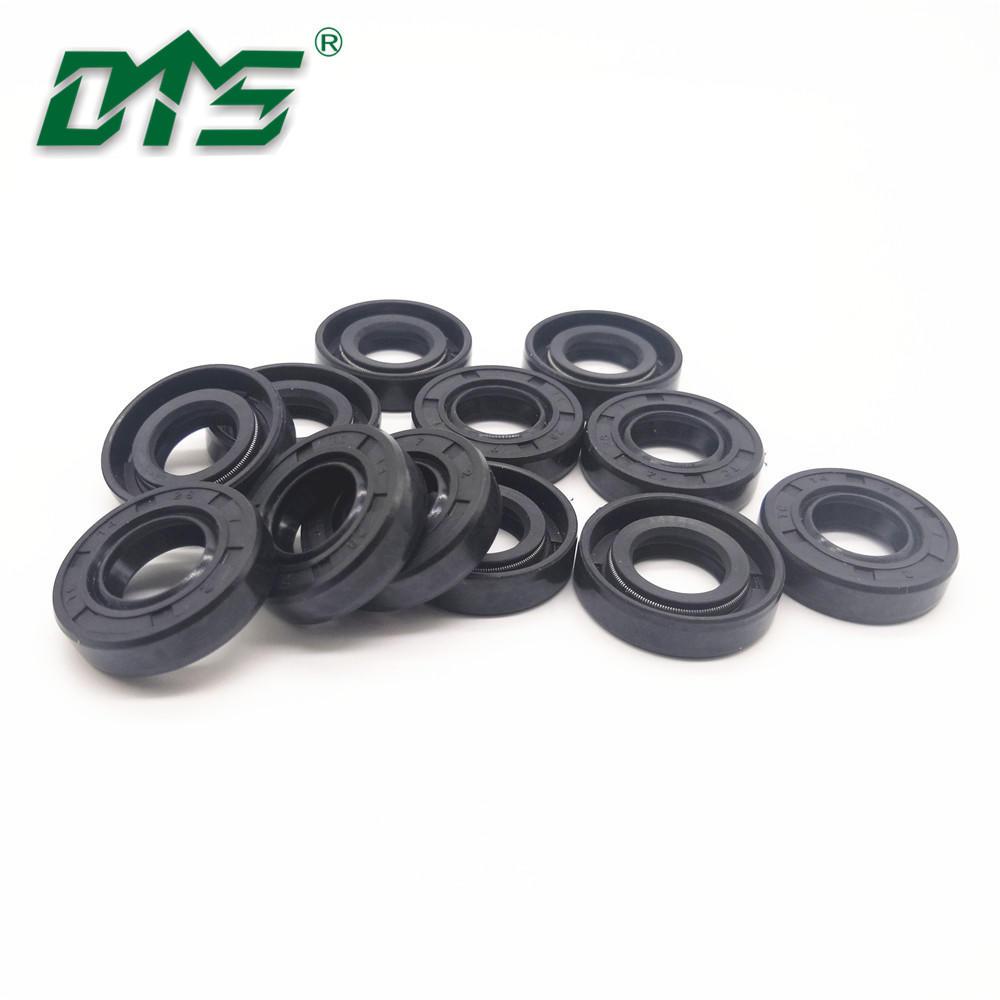 Black BNR Rubber Spring Engine Spare Parts Oil Seal