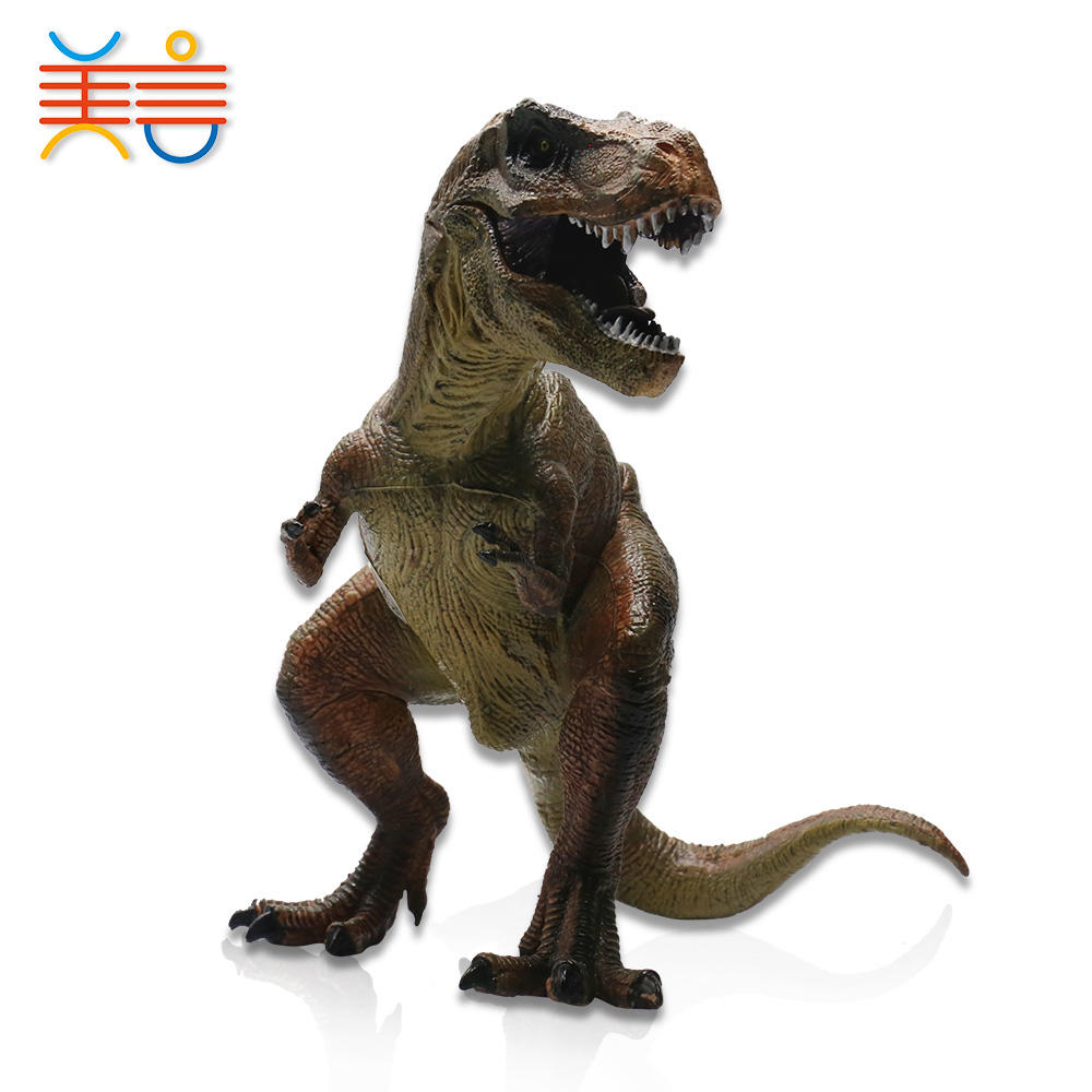 Movable legs arms table decoration model plastic toy dinosaur
