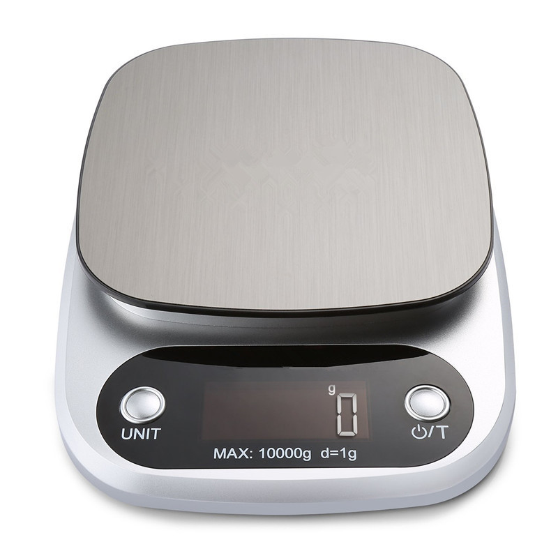 Stainless Steel Household Usage 10kg Digital Electronic Kitchen Weight Scale