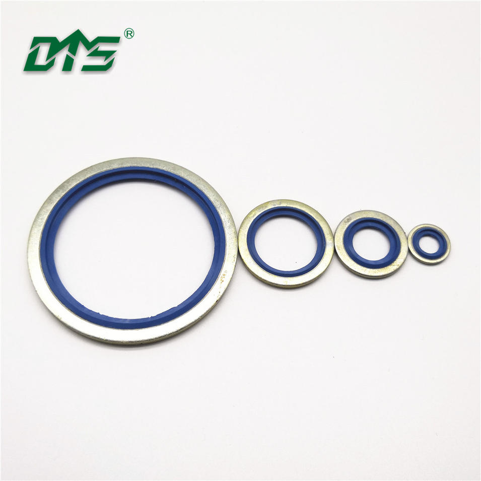 Industrial Bonded Seals,NBR,FKM/FPM+Steel Bonded Seal Blue,Yellow,Black Color
