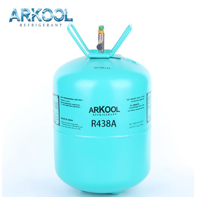 2020 factory supply mixed refrigerant gas for car ac r407 r134 r290 r507